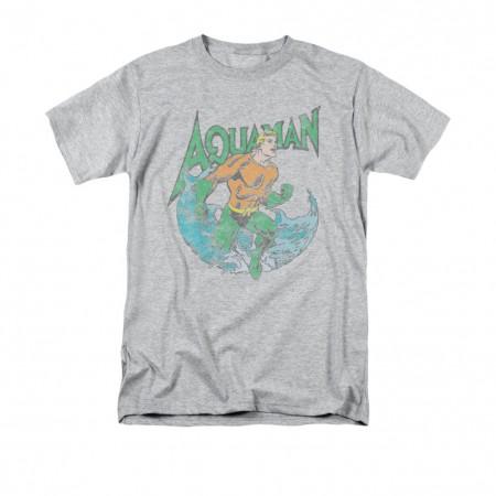 Aquaman Men's Gray Marco T-Shirt