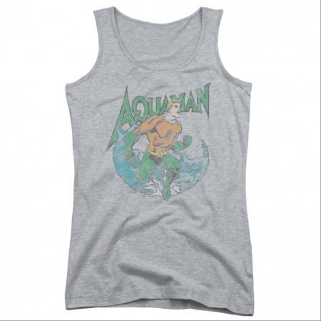 Aquaman Marco Gray Juniors Tank Top