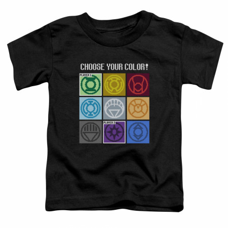 Green Lantern Choose Your Color Toddler T-Shirt
