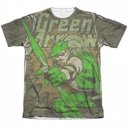 Green Arrow Take Aim Sublimation T-Shirt