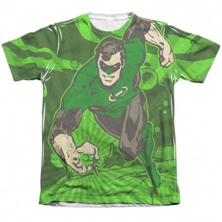 Green Lantern Radiant Power Sublimation T-Shirt