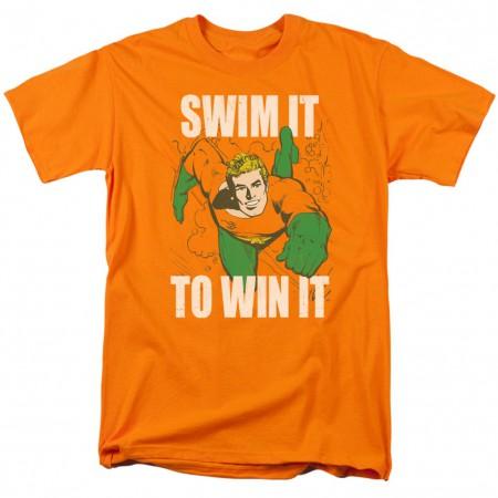 Aquaman Swim It To Win It Tshirt