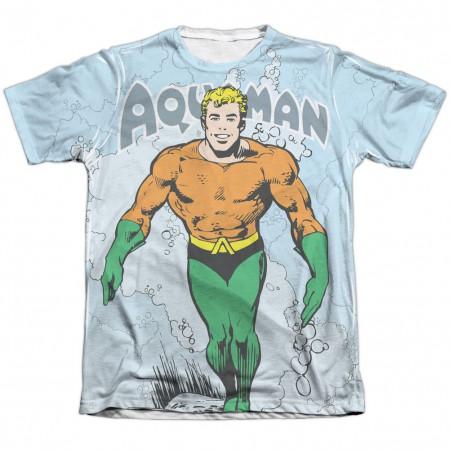 Aquaman Classic Aqua Sublimation T-Shirt