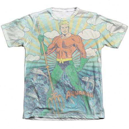 Aquaman Sonar Sublimation T-Shirt