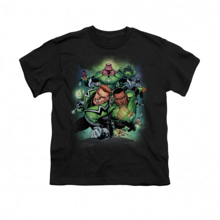 Green Lantern Corps #1 Black Youth Unisex T-Shirt