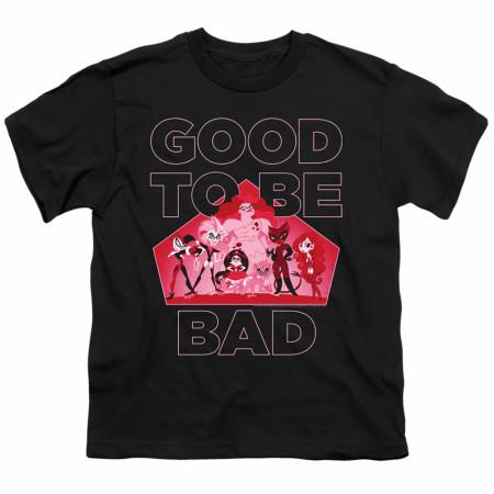 DC Comics Super Hero Girls Good To Be Bad Youth T-Shirt