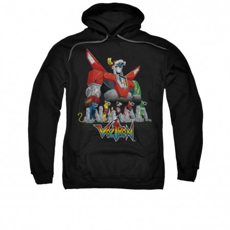 Voltron Lions Black Pullover Hoodie