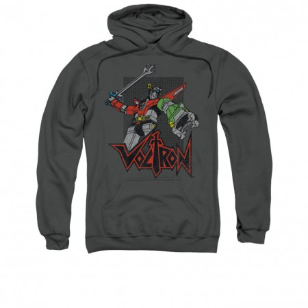 Voltron Roar Gray Pullover Hoodie