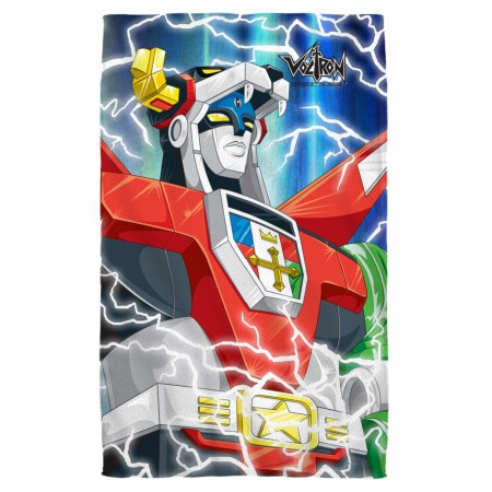Voltron Beach Towel