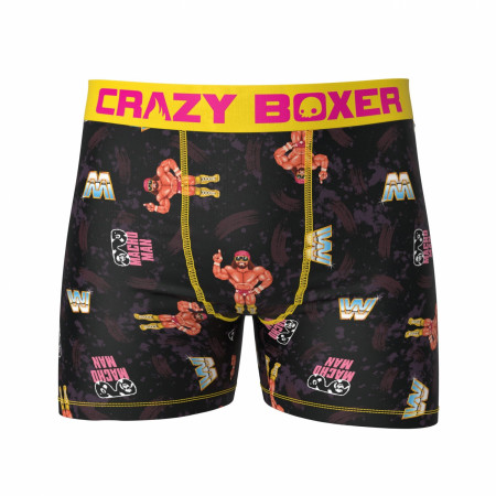 Macho Man Retro Arcade 8-Bit WWE Men's Boxer Briefs Shorts