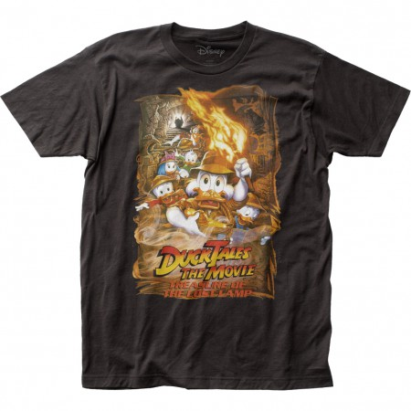 Ducktales The Movie Treasure of the Lost Lamp Tshirt