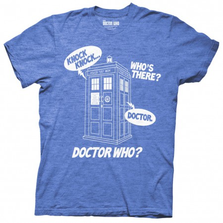 Doctor Who Knock Knock T-Shirt