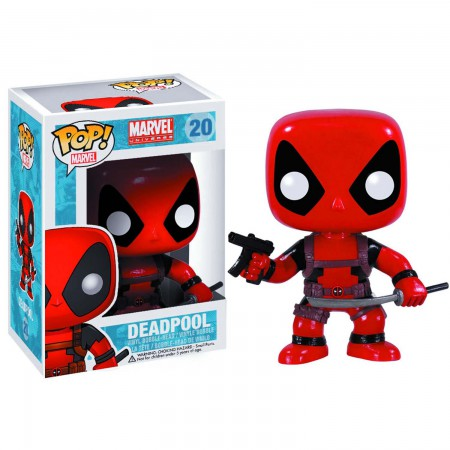 Funko Pop Deadpool Bobble Head