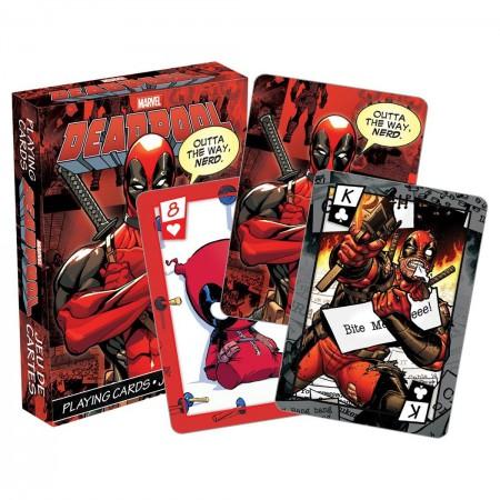 Deadpool Superhero Playing Cards