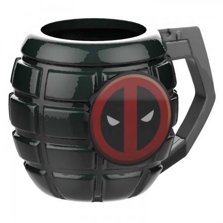 Deadpool Grenade Coffee Mug