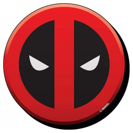 Deadpool Comic Logo Magnet