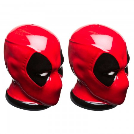 Deadpool Salt & Pepper Shakers