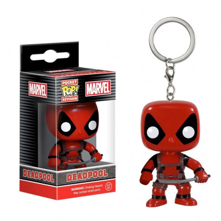 Deadpool Funko Pop Pocket Keychain