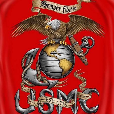United States Marine Corps Eagle T-Shirt}