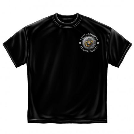 Brotherhood Marines T-Shirt - Black