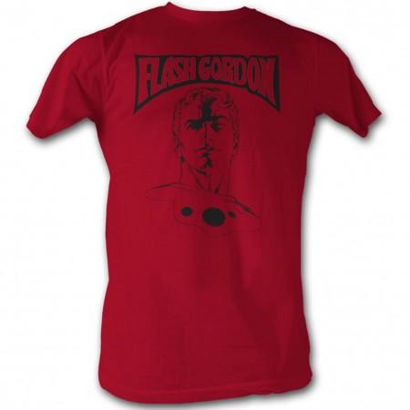 Flash Gordon Portrait Men's Red T-Shirt