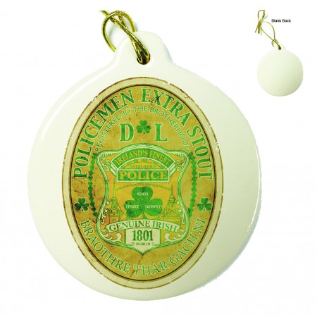 Police Irelands Finest Porcelain Ornament