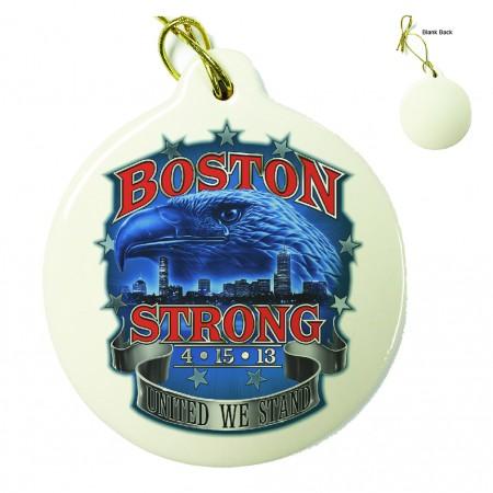 Boston Strong Porcelain Ornament