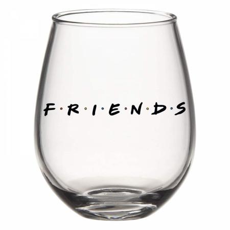 Friends Stemless 20 Oz Wine Glass