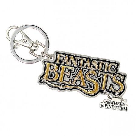 Fantastic Beasts Logo Keychain