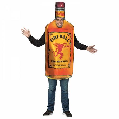 Fireball Bottle Costume