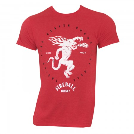 Fireball Red Men's Red Hot T-Shirt