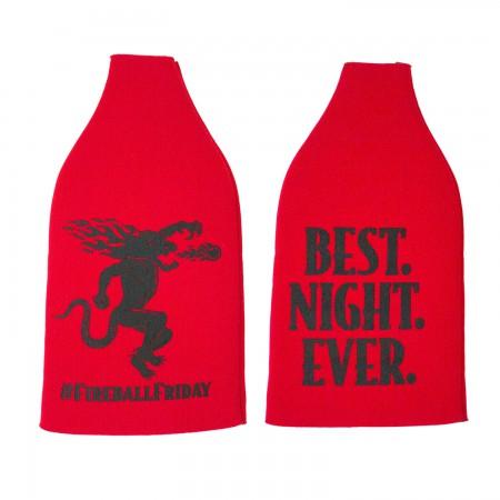 Fireball Whisky Best Night Ever Friday Bottle Cooler