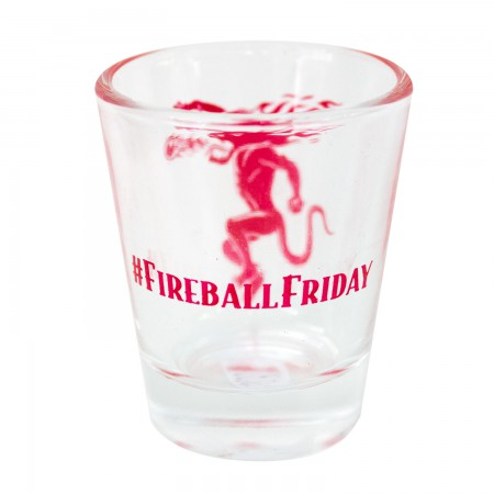 Fireball Cinnamon Whisky Friday Shotglass