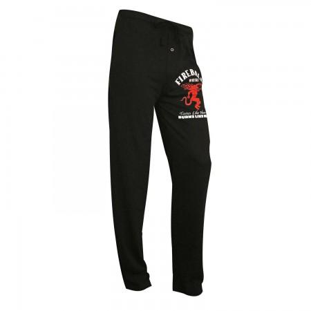 Fireball Black Sleep Pants