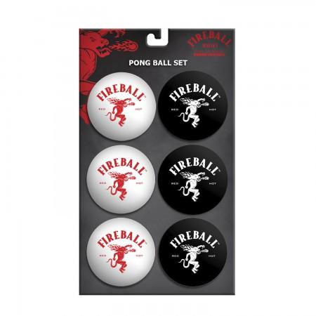 Fireball Whisky Beer Pong Balls Set