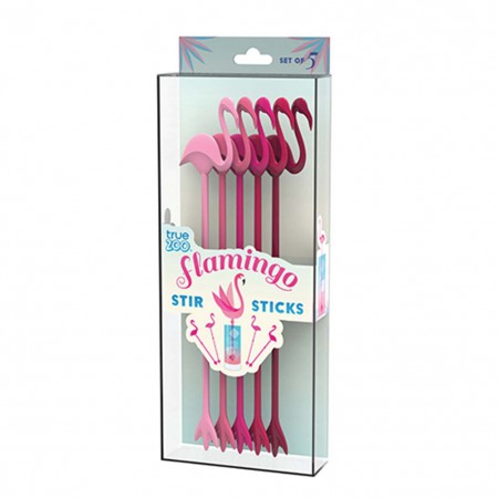 Flamingo Swizzle Stick Set