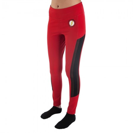 The Flash Red Workout Leggings