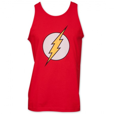 Flash Classic Logo Men's Tank Top - Red