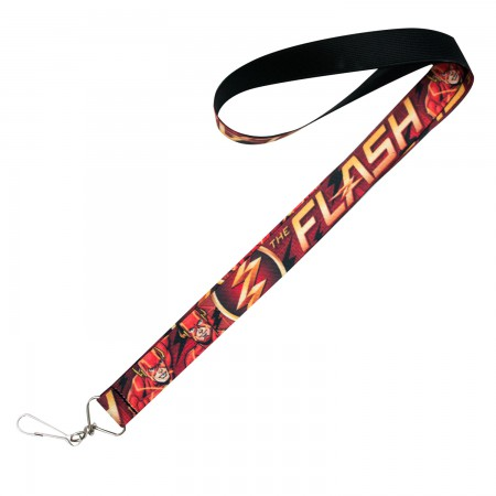 The Flash Comic Book Keychain Lanyard