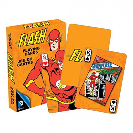 The Flash Superhero Playing Cards