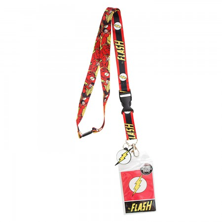 The Flash Keychain Lanyard