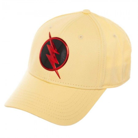 The Flash Flex Fit Chrome Weld Yellow Hat