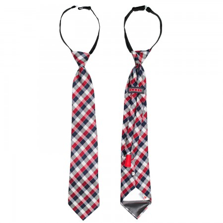 Red And Blue Secret Flask Tie