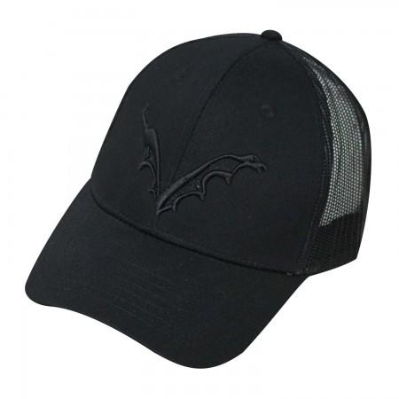 Flying Dog Logo Men's Trucker Black Hat