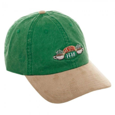 Friends Central Perk Green Strapback Hat