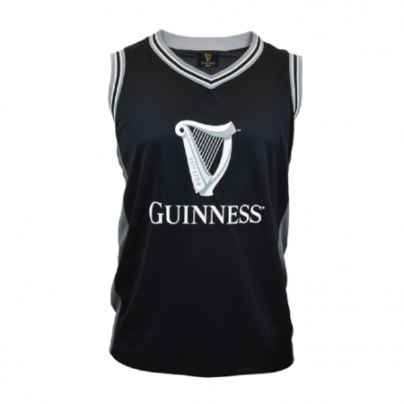 Guinness Black and Grey Basketball Jersey