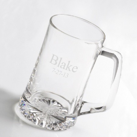 Personalized 25 Ounce Custom Beer Mug