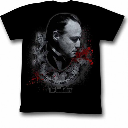 Godfather Showing Respect Black TShirt