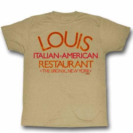Godfather Louis Restaurant Beige TShirt