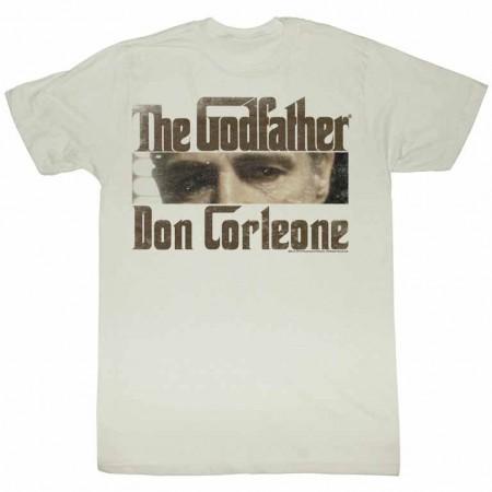 Godfather Cutting Eyes Off White TShirt